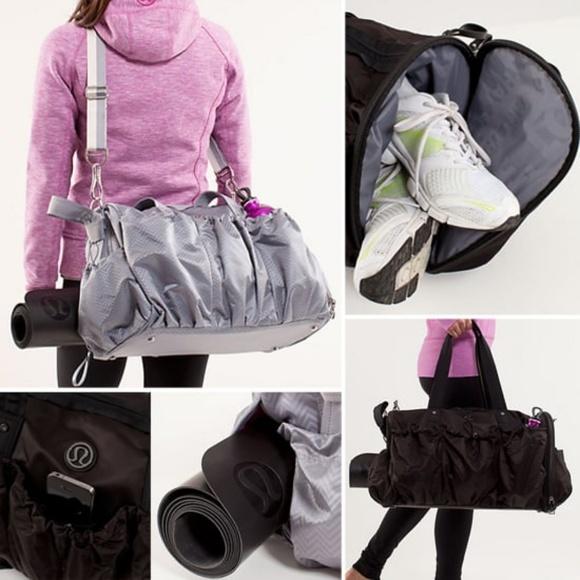 lululemon athletica Handbags - Lululemon Legendary Duffel  In Black Circa 2012